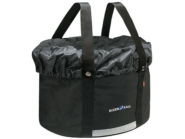 KlickFix Shopper Plus Cykeltaske, black